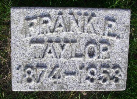 TAYLOR, FRANK R. - Guthrie County, Iowa | FRANK R. TAYLOR