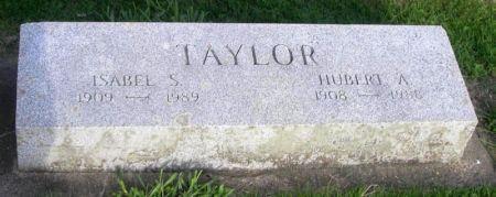 TAYLOR, HUBERT A. - Guthrie County, Iowa | HUBERT A. TAYLOR
