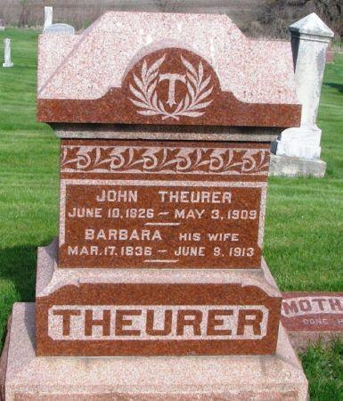 THEURER, JOHN - Guthrie County, Iowa | JOHN THEURER
