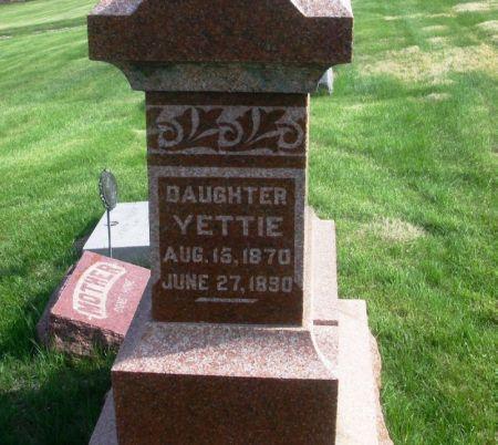 THEURER, YETTIE - Guthrie County, Iowa | YETTIE THEURER