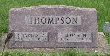 THOMPSON, CHARLES A - Guthrie County, Iowa | CHARLES A THOMPSON