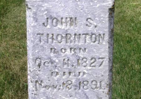 THORNTON, JOHN S. - Guthrie County, Iowa | JOHN S. THORNTON