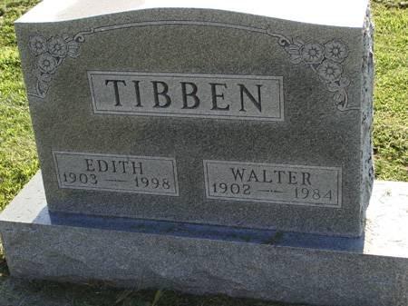 PETRI TIBBEN, EDITH - Guthrie County, Iowa   EDITH PETRI TIBBEN
