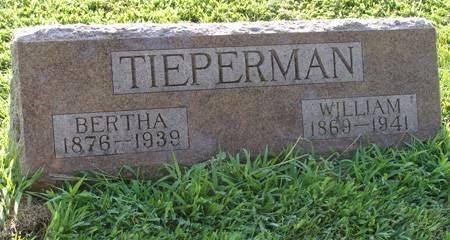TIEPERMAN, WILLIAM - Guthrie County, Iowa | WILLIAM TIEPERMAN