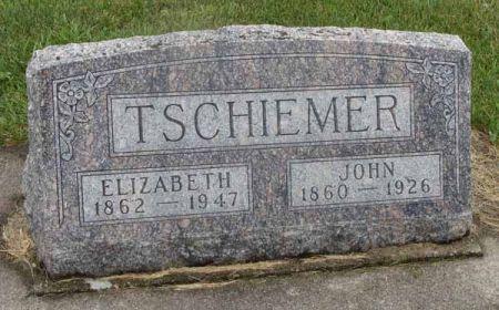 TSCHIEMER, ELIZABETH - Guthrie County, Iowa | ELIZABETH TSCHIEMER