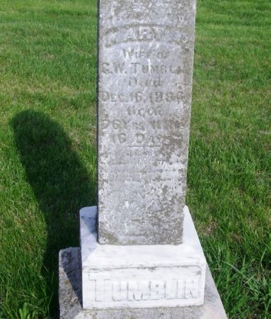 TUMBLIN, MARY A. - Guthrie County, Iowa | MARY A. TUMBLIN