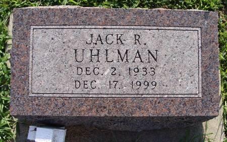 UHLMAN, JACK R - Guthrie County, Iowa | JACK R UHLMAN