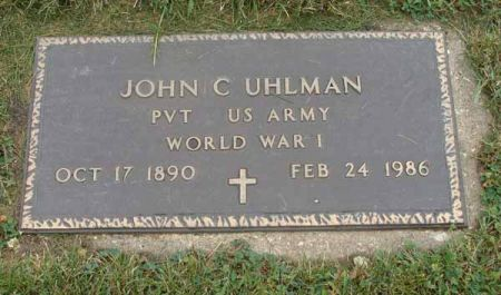 UHLMAN, JOHN C. - Guthrie County, Iowa | JOHN C. UHLMAN