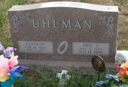 UHLMAN, PHIL J - Guthrie County, Iowa | PHIL J UHLMAN