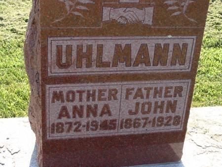 UHLMANN, ANNA - Guthrie County, Iowa | ANNA UHLMANN