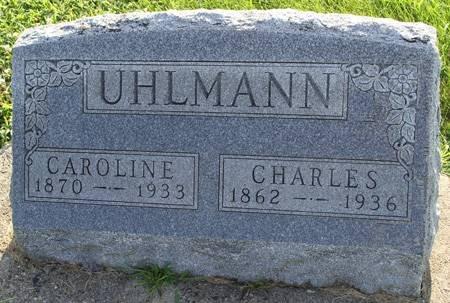 UHLMANN, CAROLINE - Guthrie County, Iowa | CAROLINE UHLMANN