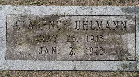 UHLMANN, CLARENCE - Guthrie County, Iowa   CLARENCE UHLMANN
