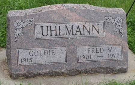 UHLMANN, FRED W - Guthrie County, Iowa | FRED W UHLMANN