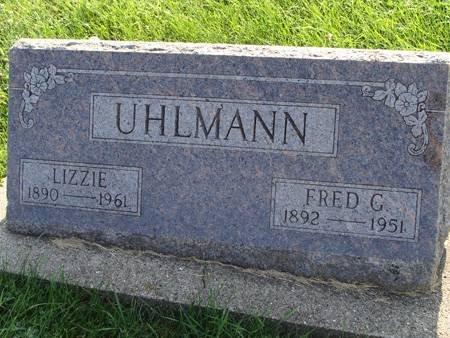 UHLMANN, LIZZIE - Guthrie County, Iowa | LIZZIE UHLMANN