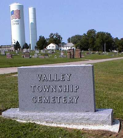 VALLEY TOWNSHIP, CEMETERY - Guthrie County, Iowa | CEMETERY VALLEY TOWNSHIP