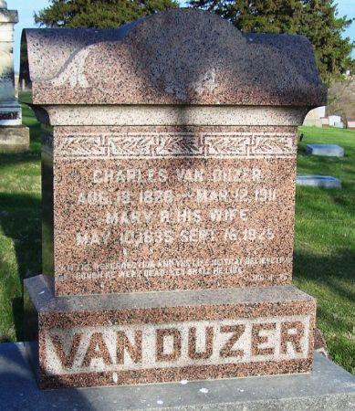 VAN DUZER, CHARLES C. - Guthrie County, Iowa | CHARLES C. VAN DUZER