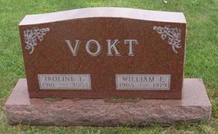 EVANS VOKT, IROLINE L - Guthrie County, Iowa | IROLINE L EVANS VOKT