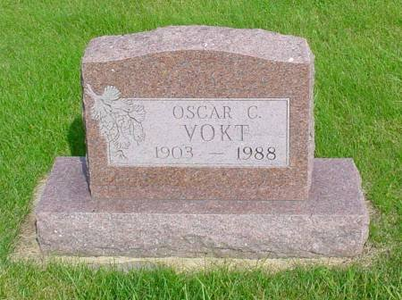 VOKT, OSCAR C - Guthrie County, Iowa   OSCAR C VOKT