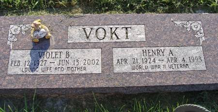 VOKT, HENRY A - Guthrie County, Iowa | HENRY A VOKT