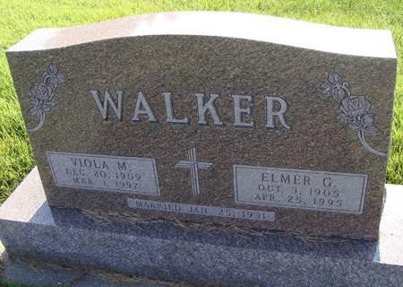 KRAUSE WALKER, VIOLA M - Guthrie County, Iowa   VIOLA M KRAUSE WALKER
