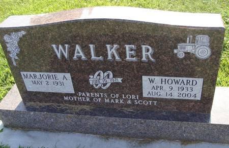 WALKER, W HOWARD - Guthrie County, Iowa   W HOWARD WALKER