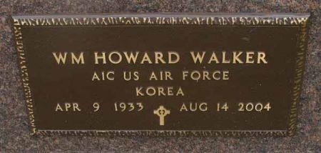 WALKER, WM HOWARD - Guthrie County, Iowa   WM HOWARD WALKER