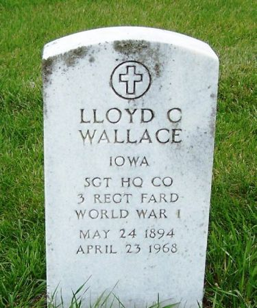 WALLACE, LLOYD C. - Guthrie County, Iowa | LLOYD C. WALLACE