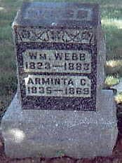 WEBB, ARMINTA C. - Guthrie County, Iowa | ARMINTA C. WEBB