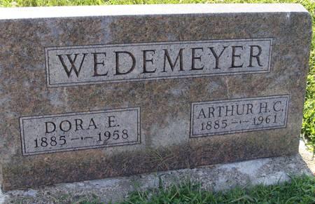 WEDEMEYER, DORA E - Guthrie County, Iowa | DORA E WEDEMEYER