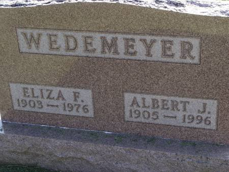 WEDEMEYER, ELIZA F - Guthrie County, Iowa | ELIZA F WEDEMEYER
