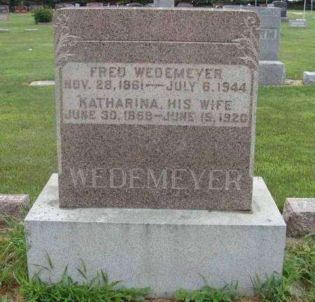 WEDEMEYER, KATHARINA - Guthrie County, Iowa | KATHARINA WEDEMEYER