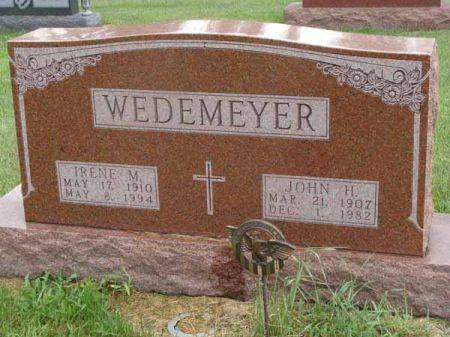 WEDEMEYER, JOHN H. - Guthrie County, Iowa | JOHN H. WEDEMEYER