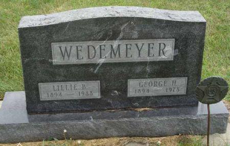 WEDEMEYER, LILLIE B. - Guthrie County, Iowa   LILLIE B. WEDEMEYER