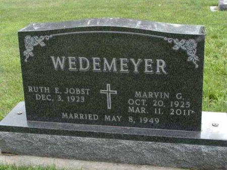 WEDEMEYER, MARVIN G. - Guthrie County, Iowa | MARVIN G. WEDEMEYER