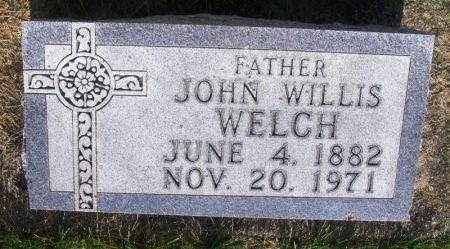 WELCH, JOHN WILLIS - Guthrie County, Iowa | JOHN WILLIS WELCH