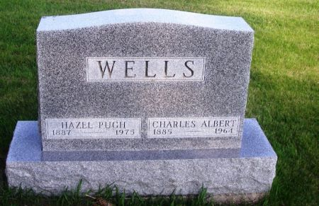 PUGH WELLS, HAZEL - Guthrie County, Iowa | HAZEL PUGH WELLS