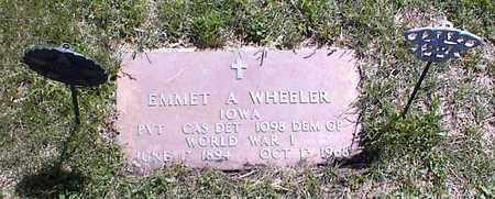 WHEELER, EMMET - Guthrie County, Iowa   EMMET WHEELER