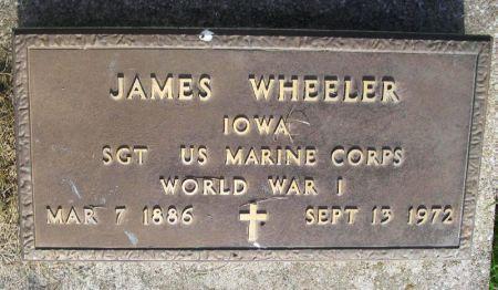 WHEELER, JAMES - Guthrie County, Iowa   JAMES WHEELER