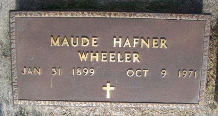 WHEELER, MAUDE - Guthrie County, Iowa | MAUDE WHEELER