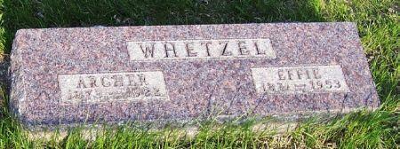 WHETZEL, EFFIE - Guthrie County, Iowa | EFFIE WHETZEL