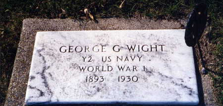 WIGHT, GEORGE G. - Guthrie County, Iowa | GEORGE G. WIGHT