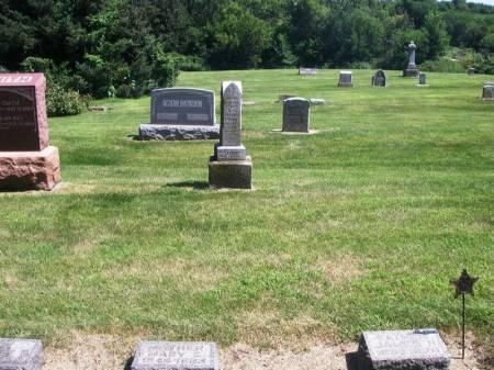 GOWDEY, MARY E. FAMILY STONE - Guthrie County, Iowa | MARY E. FAMILY STONE GOWDEY