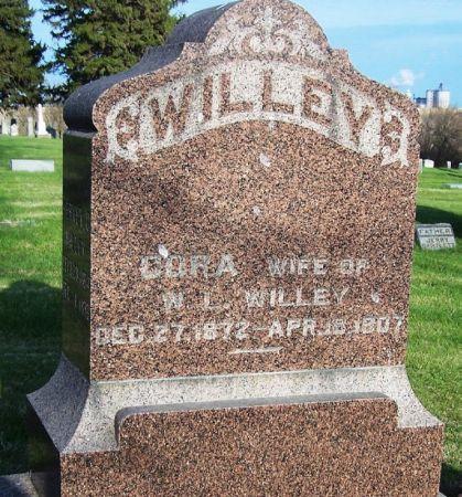 WILLEY, CORA - Guthrie County, Iowa | CORA WILLEY