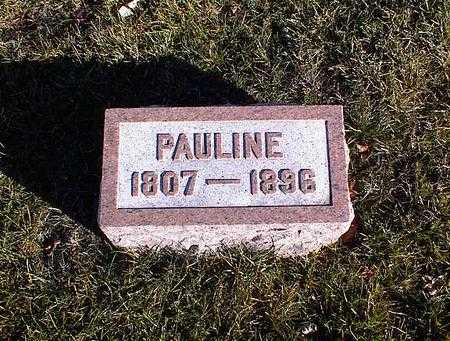 WILLIAMS, PAULINE - Guthrie County, Iowa | PAULINE WILLIAMS
