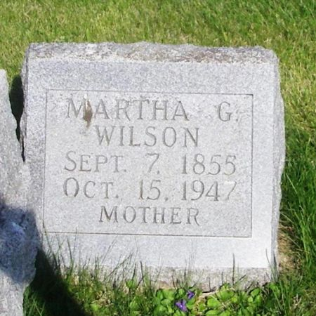 WILSON, MARTHA G. - Guthrie County, Iowa | MARTHA G. WILSON