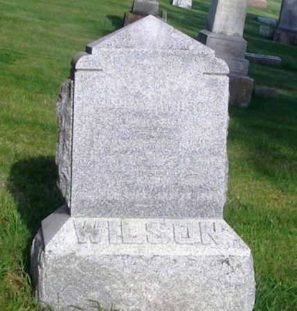 WILSON, WILLIAM - Guthrie County, Iowa   WILLIAM WILSON