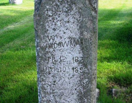 WINDOWMAKER, JOHN W. - Guthrie County, Iowa   JOHN W. WINDOWMAKER