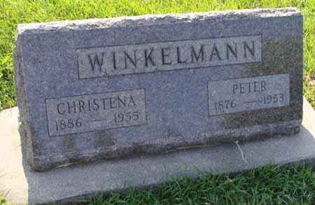 WINKELMANN, CHRISTENA - Guthrie County, Iowa | CHRISTENA WINKELMANN
