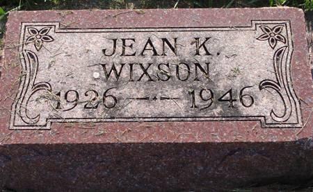 WIXSON, JEAN K - Guthrie County, Iowa | JEAN K WIXSON