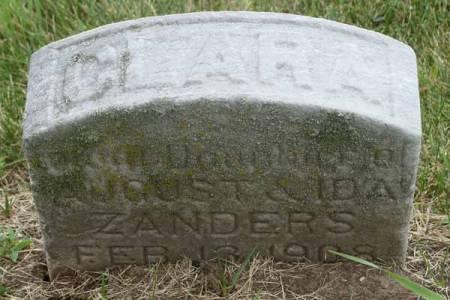 ZANDERS, CLARA - Guthrie County, Iowa | CLARA ZANDERS